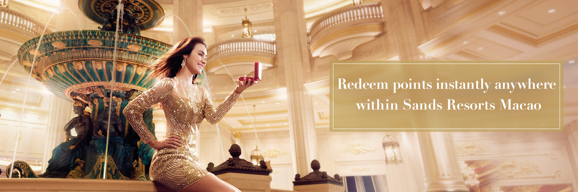 Sands Lifestyle Redeem Points